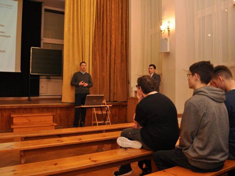 Spotkanie z przedstawicielami Politechniki Lubelskiej