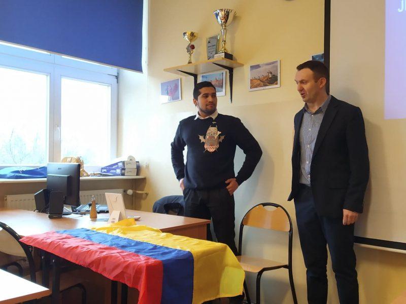 Spotkanie z Kolumbią