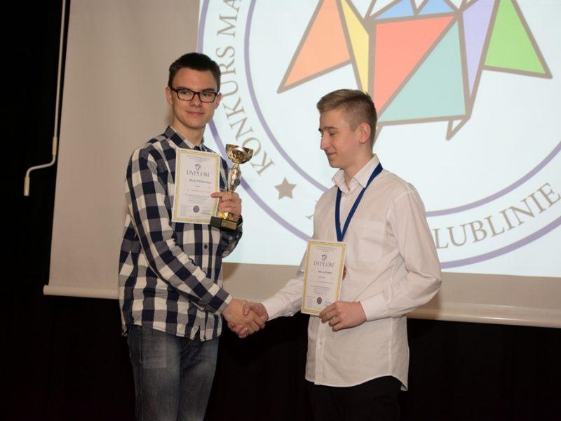 Gala XXI Konkursu Matematycznego im. ks. dra F. Jakóbczyka