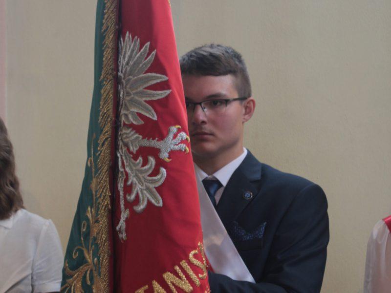Zaprzysiężenie Samorządu Uczniowskiego