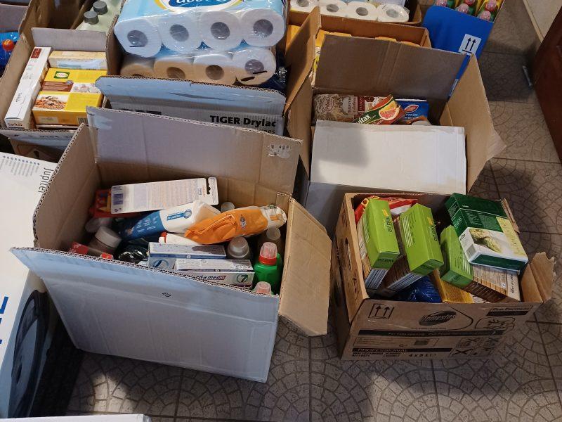 Akcja pomocy podopiecznym Ośrodka Wsparcia dla Osób Bezdomnych Bractwa Miłosierdzia im. św. Brata Alberta